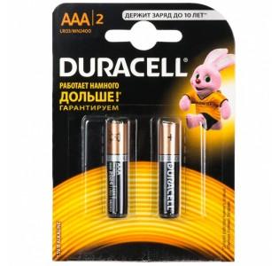 Батарейка LR03 DURACELL (2шт.)