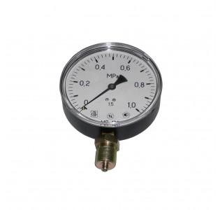 Манометр 1,0 МПа (d-100мм., радиальный М20 х1,5) для измерения давления жидкости, газа, пара