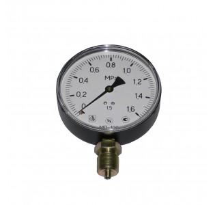 Манометр 1,6 МПа (d-100мм., радиальный М20 х1,5) для измерения давления жидкости, газа, пара