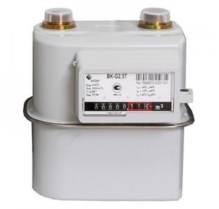 Счетчик газа ВК- G2,5T с мех. термокоррекц. (110мм.) левый, Арзамас