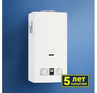 Водонагреватель газовый BaltGaz Classic 10 цвет-белый (5 лет гарантии)