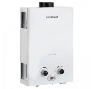 Газовый водонагреватель 10 л. белый Superflame SF0120