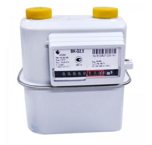Счетчик газа ВК- G2,5T с мех. термокоррекц. (110мм.) правый, Арзамас