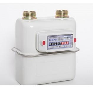 Счетчик газа СГД-G4-ТК СЧЕТПРИБОР с мех.термокоррекц. G1 1/4(110мм.)(аналогNP-ОМЕГА)правый