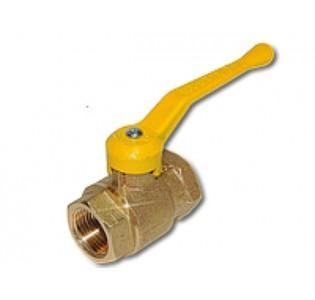 Кран газ.шаровый латунный CANDAN 3/4.DN 20