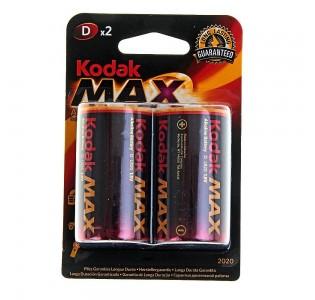 Батарейка LR20 KODAK MAX (2шт.)