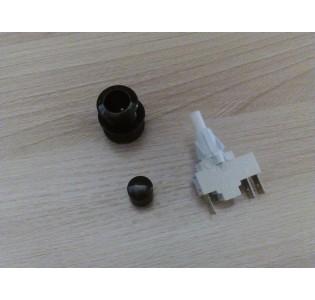 Переключатель кнопочный ПКн 506.2-222 (черн.)