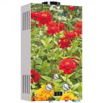 Водонагреватель газовый VEKTOR Lux Eco JSD20-2 цветы