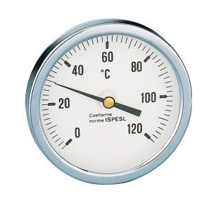 Термометр с хромированной рамкой (31100022)